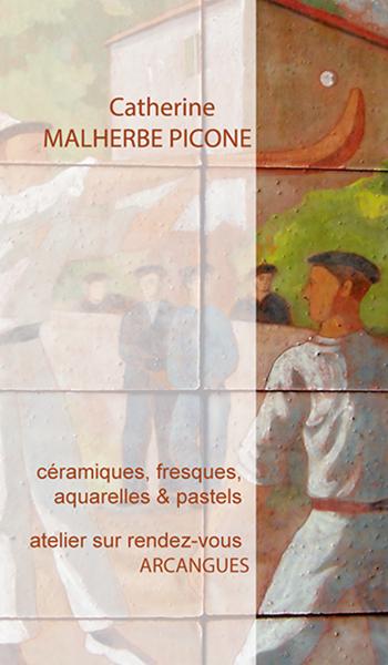 Carte De Visite Pour Catherine Malherbe Ceramiste
