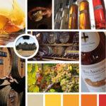 Moodboard pour le bas-armagnac Ravignan