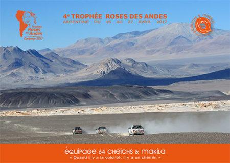 Book pour le trophée Roses des Andes